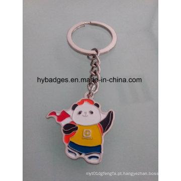 Linda panda chaveiro, chaveiro de metal esmalte (gzhy-ka-021)