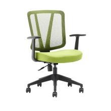 Дешевые высокое качество персонала задач поворотное низкая спинка стула с рицинусами