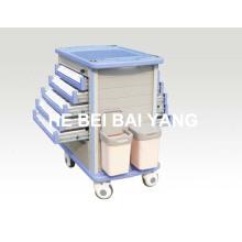 Chariot de livraison de médicaments ABS B-105
