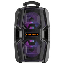 """Novo alto-falante portátil Bluetooth de 6,5 """"com MIC"""