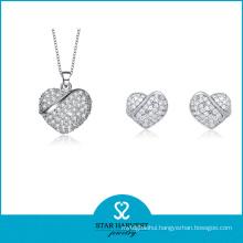 Wholesale 2014 925 Sterling Silver Jewelry Set for Women (J-0012)