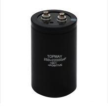 22000UF 250V Screw Terminal Electrolytic Capacitor