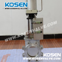 Stainless Steel Wafer Knife Gate Valves (PZ73)
