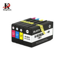 KingTech Top Selling 953XL 957XL 953 957  Color Cartridge Ink Compatible Ink Cartridge for Laser Printer