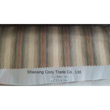 Nuevo popular proyecto de rayas Organza Voile Sheer cortina 0082116