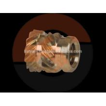 Inserciones de Chevron con rosca de cabeza de latón