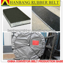Sólido de correia transportadora PVG680S tecido para resistência mina de carvão