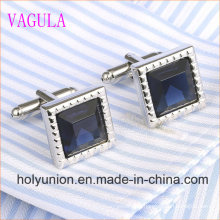 VAGULA Gemelos Men French Shirt Diamond Cuff Links 339