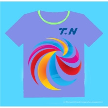 Kundenspezifisches Sublimations-T-Shirt, Sublimation Shirts Unbelegte, preiswerte kundenspezifische gedruckte T-Shirts