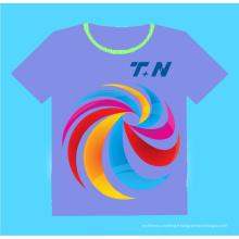 T-shirt personnalisé de sublimation, T-shirt de sublimation Blank, Cheap Custom T-Shirts