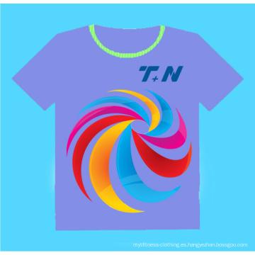 Camiseta de encargo de la sublimación, Sublimation T Shirt
