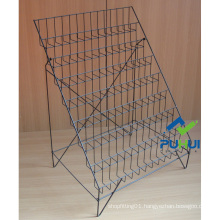 8 Tier Metal Wire Foldable Card Display Shelf (PHC309)