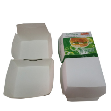 Boîte à papier de qualité alimentaire pour l'emballage de Hamhurger
