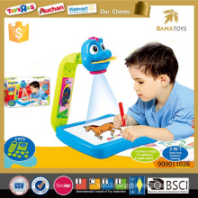 Kid educational art toy cartoon projector