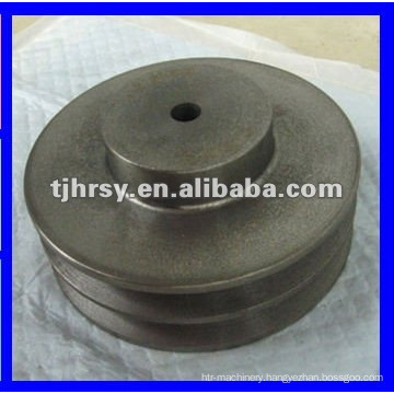 Self colour belt pulley with hub