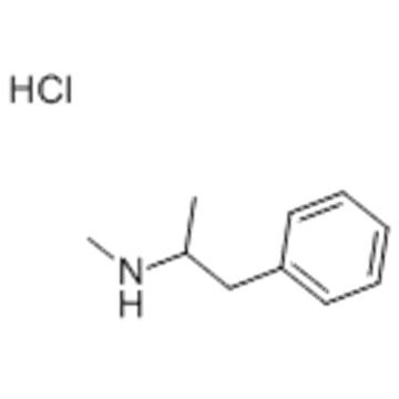 N,alpha-dimethylphenethylamine hydrochloride CAS 300-42-5