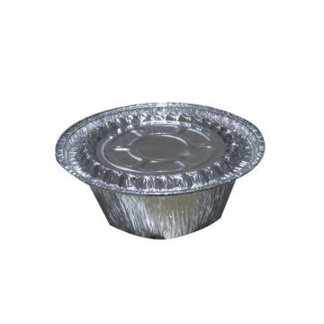 Bandejas de aluminio para bandejas redondas Bandejas para hornear 2.7OZ
