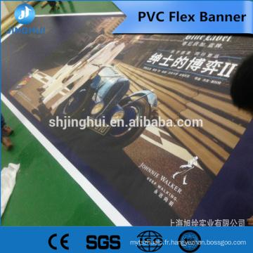 Affiche de qualité Lisse 510gsm 1000 * 1000D 9 * 9 nba bannière pour commercial