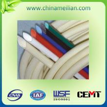 Manguito de aislamiento de cable de tela de fibra de vidrio