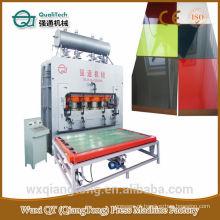 Nova máquina de prensa de calor para painéis funiture / Pressão hidráulica quente para papel de melamina