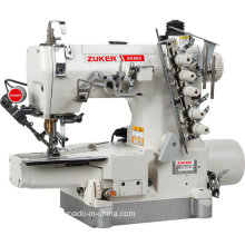 Zuker Pegasus High Speed Computerized Direct-Drive Cylinder-Bed Interlock Sewing Machine with Auto-Trimmer (ZK600-01DA-UT)