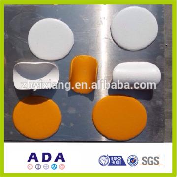 Nuevo diseño de termoplásticos blancos marca de carretera de pintura