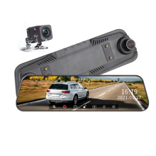 Best Selling 64G 9.66 Inch 1080P AHD GPS Running Track Rearview Mirror Dash Cam
