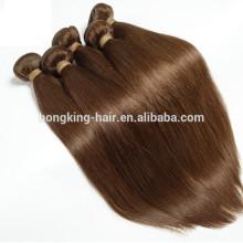 Usine prix 20 pouces # 4 couleur remy cheveux humains armure durable 6-10 mois