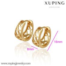 (29788) Brinco de ouro banhado a ouro de moda 18k de jóias Xuping para mulher