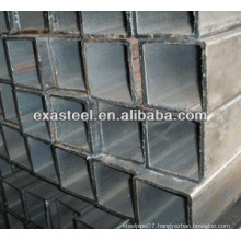 black rectangular steel tube/pipe