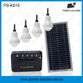 8ВТ с электрической системы решетки солнечной энергии с 4шт светодиодные лампы