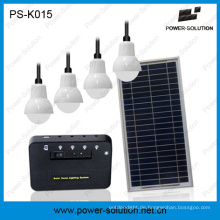 Solar Home Lighting System Beleuchtung 4 Zimmer 6 Stunden mit 5200mAh Lithium-Batterie