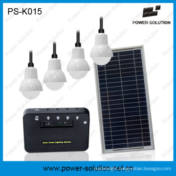 Rechargeable Solar Home Lighting System with Phone Charger (PS-K015)