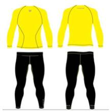 Stock Gelb Sublimierte Hemden