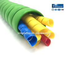 protector espiral de la manguera del abrigo del cable