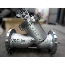 OS&Y Y Type Globe Valve with Bw End