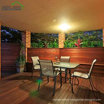 Long Quality Warranty Import Waterproof Merbau Wood Floor Decking Outdoor