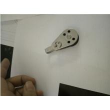 Stainlesss acero simple/doble polea Nylon giratorio polea con buje de bronce