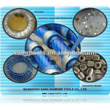 Diamond Wire Saw D8.5 Blue Plastic for Granite