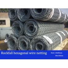 Double Twist Hexagonal Rockfall Netting