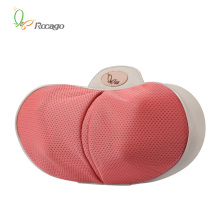 Car and Home Mini Leisure Heating Massage Pillow with Massage Head