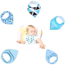 High quality baby bibs drool bandana fashion custom baby bibs