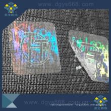 Transparent Hologram Sticker with Company Logo Design