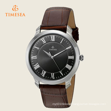 Casual Mens Quartz Watch with Leather Strap 72278