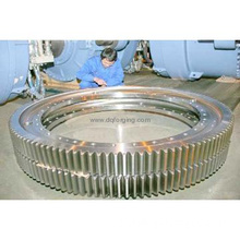 Open die forging marine gear ring factory based in China