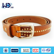 Fashion Ladies Genuine Studs Leather Belts