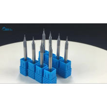 BFL Карбид вольфрамовые микро плоские концевые фрезы D0.3 * FL0.6 * D4 * 50L * 2F