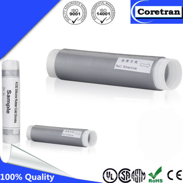IP68 Rubber Silicone Cold Shrink UV Resistant Tube