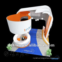 diseño de la fábrica de la cabina de exposición y stand de feria expo personalizado