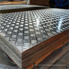 6061 grade galvanised aluminium floor plate sheet